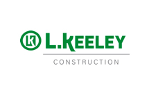 L keeley construction logo
